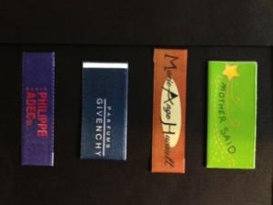 Custom Printed Labels for Designer Clothes