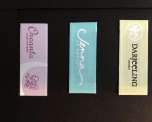 Custom Designer Printed Labels