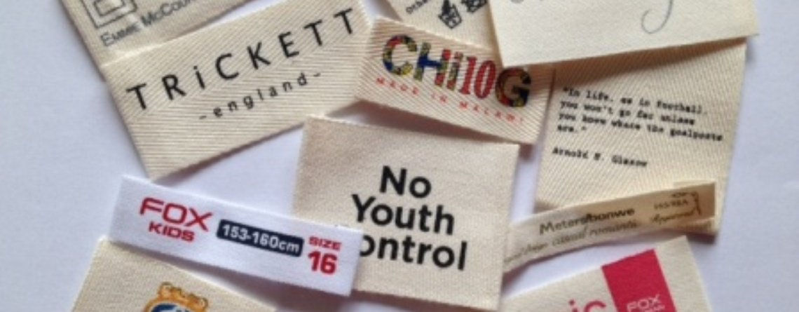 Cotton Clothing Labels