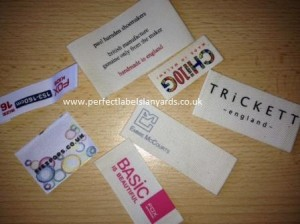 Designer Printed Labels