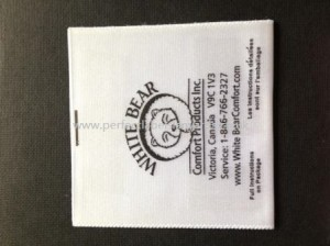 Printed Wash Care Labels