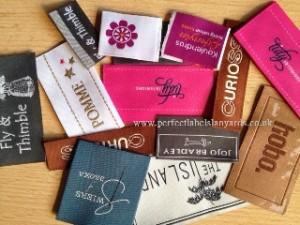 Designer Woven Clothing Labels