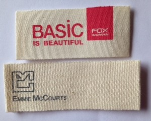 Designer Cotton Labels