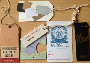 Custom Hang Tags and Swingers for clothing
