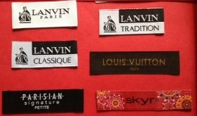 Designer Clothing Labels