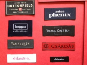 Personalized Woven Clothes Labels