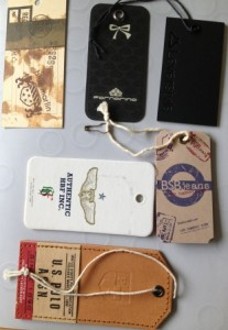 Hang Tags for Clothing