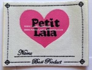 Satin Garment Labels