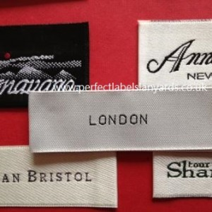 Designer Clothing Tags | Customized Woven Garment Labels Uk Supplier