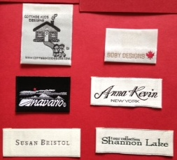 Custom Woven Labels for Garment