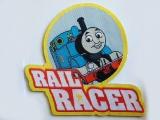 Woven Laser Cut Badges
