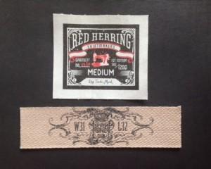 Canvas Cotton Printing Labels