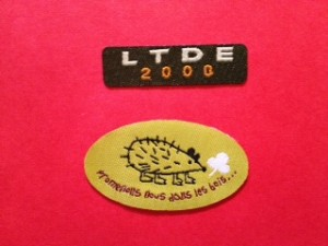 Custom Shape Woven Labels for Clothing