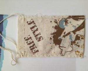 Fabric Print Craft Labels
