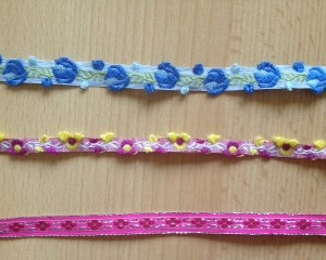 Flowers Design Ribbon