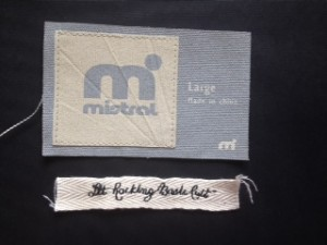 Hamemade Sewing Printing Tags