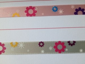 Printed Satin Celebration Ribbon