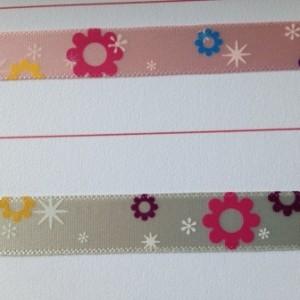 Printed Satin Celebration Ribbon