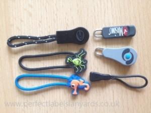 Rubber Zipper Pulls