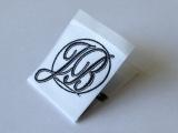 Neck Woven Labels - Damask