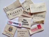 Textile Designer labels