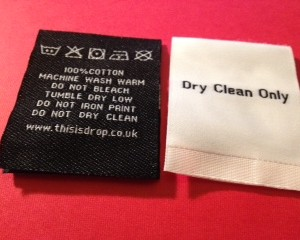 Woven Care Labels