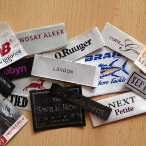 Designer Woven Clothing Labels Maker