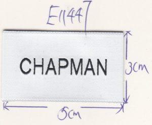 Brand Woven Label Design
