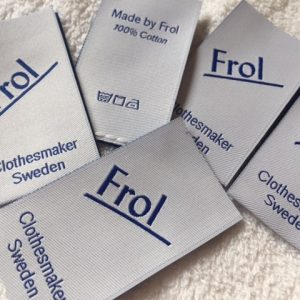 Custom Woven Labels for Designers Fashion Clothes