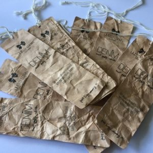 Eco friendly hang tags
