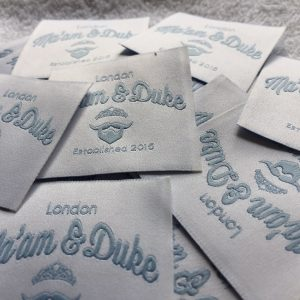 Woven Clothing Labels for Designers
